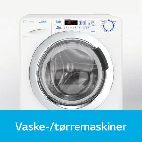 Candy vaske-/tørremaskiner
