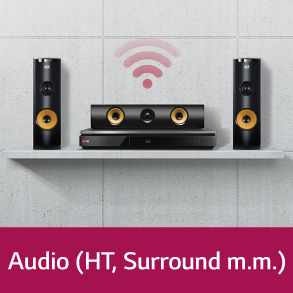 LG Audio (HT, Surround m.m.)