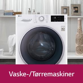 LG Vaske-/tørremaskiner