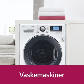 LG Vaskemaskiner