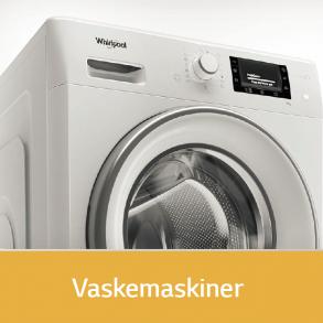 Whirlpool vaskemaskiner